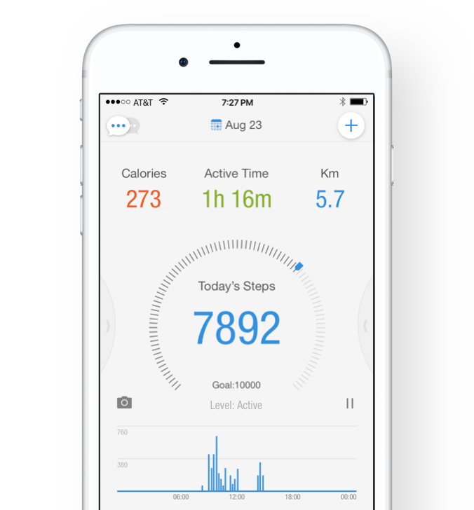 Pacer: Pedometer & Fitness App - Simple Fitness and Weight ...