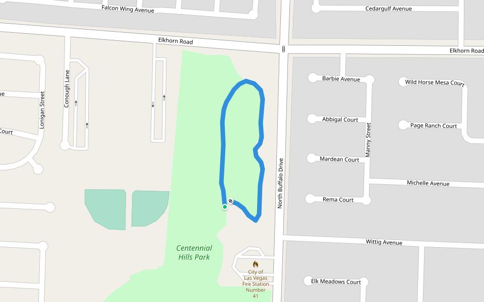 centennial hills park walking and running las vegas nevada usa pacer pacer