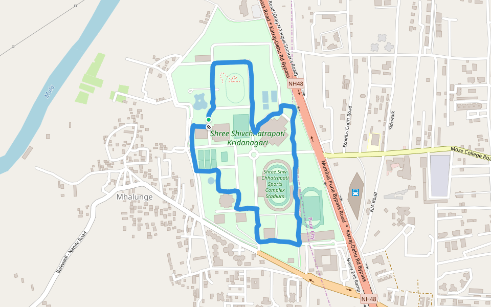 Shree Shivchhatrapati Kridanagari Walking And Running Trail ...