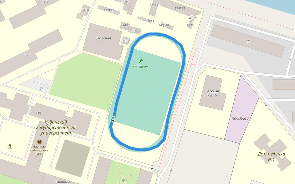 Kuban State University Walking And Running Trail Krasnodar Krasnodar Krai Russia Pacer